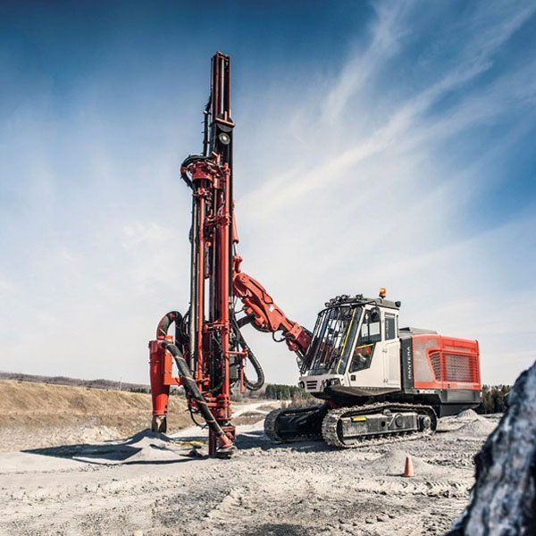 crawler hydraulic wells-geothermal drilling rig