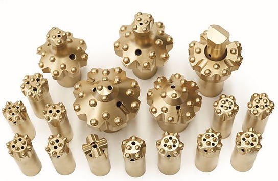 reaming button bits pilot drilling bits